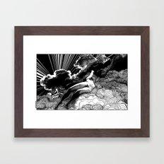 asc 615 - La volupté des formes (The voluptuousness of painting) Framed Art Print