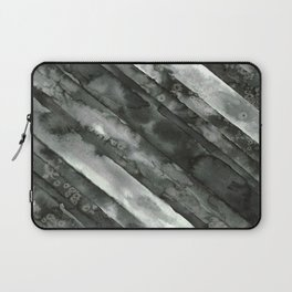 Black Stripe #1 Laptop Sleeve