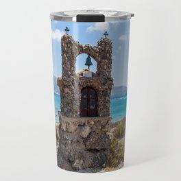 Elafonisi Island Shrine - Crete, Greece Travel Mug