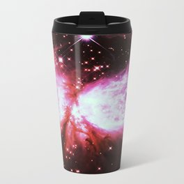 Space Galaxy : A Star is born Mauve Burgundy Lavender Travel Mug