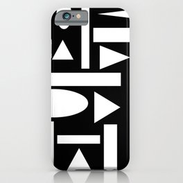 Abstractwork No.845 iPhone Case