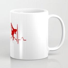 HIP HOP DANCER MAN HEARTBEAT Coffee Mug