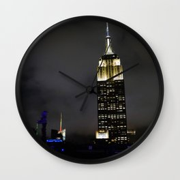 Night Empire Wall Clock