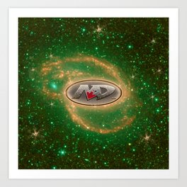 NAD Space Frontier Art Print