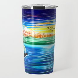 Orcas Island - painted live @ Imagine festival Travel Mug