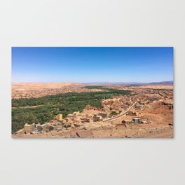 Oasis in Morocco Canvas Print