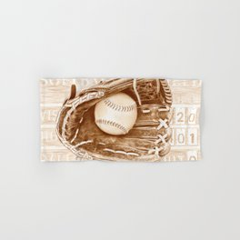 Softball Hand & Bath Towel