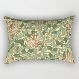 William Morris Honeysuckle Rectangular Pillow