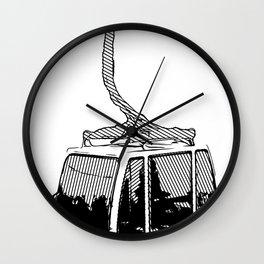 Inked Gondola Wall Clock