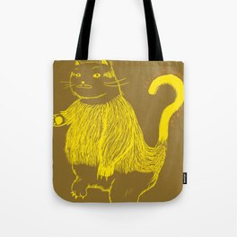 Trying to understand our cat Tote Bag