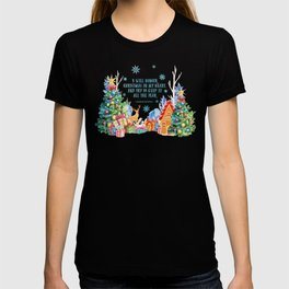I will honour christmas in my heart T-shirt
