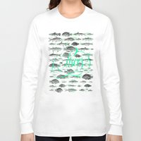 pisces Long Sleeve T-shirts featuring Pisces by Srg44