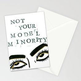 Not Your Model Minority V.2 Stationery Cards