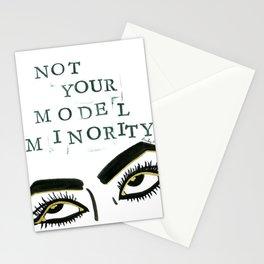 Not Your Model Minority V.2 Stationery Cards