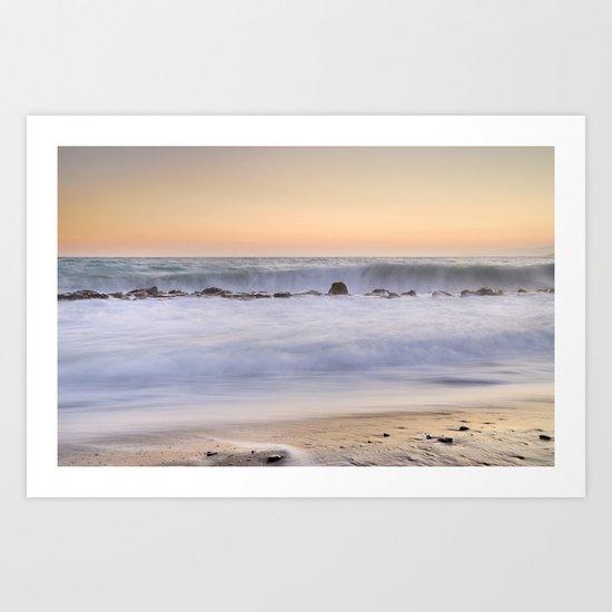 The big wave.... Art Print