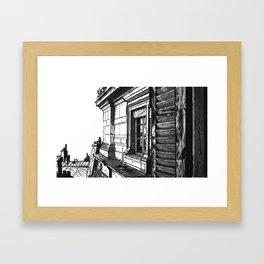 The Windows - 36, Quai des Orfevres, Paris - 1930s Framed Art Print