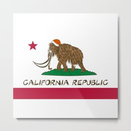 Mammoth California Metal Print