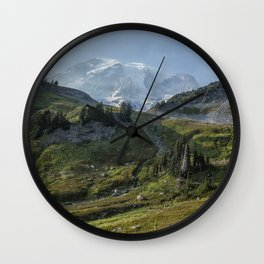 The Wrong Trail, the Right View Wall Clock