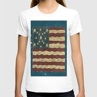american flag T-shirts featuring American Flag by Argi Univrs