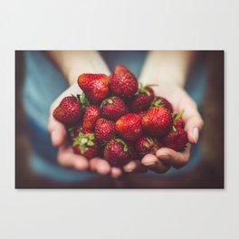 The Extraordinary Berry Canvas Print