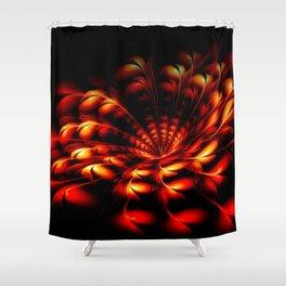 Feuerblume Shower Curtain