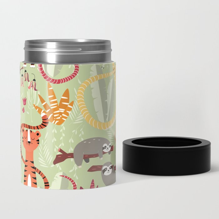 Rain forest animals 004 Can Cooler