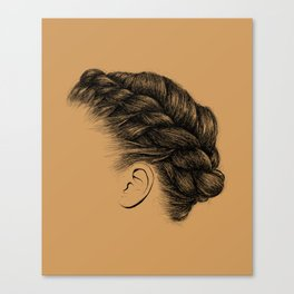 Crown: Braided Crown Canvas Print