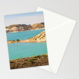 Turquoise Reservoir Stationery Cards