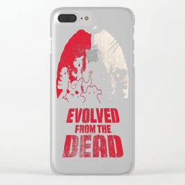 Evolved-from-the-Dead Clear iPhone Case