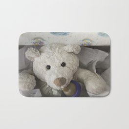 teddy bear surprise Bath Mat