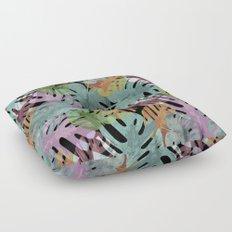 Monstera Night Glory Floor Pillow