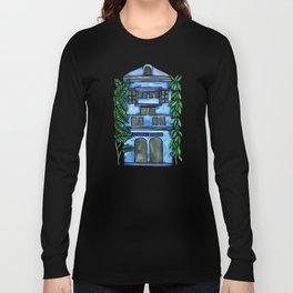 Tropical Blue House Long Sleeve T-shirt