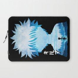 Minimalist Silhouette Killua Laptop Sleeve