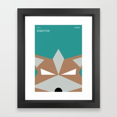 Poster Nintendo Star Fox Framed Art Print
