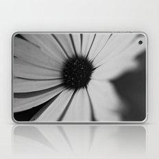 Black Daisy Laptop & iPad Skin