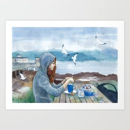 Tea on Skye Art Print