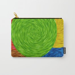 Twirling Colors Carry-All Pouch