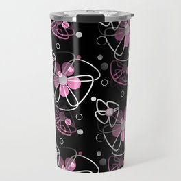 Flirty Floral Travel Mug