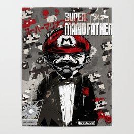 Super Mario Father Poster