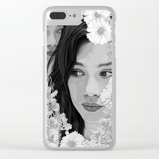Time and time Clear iPhone Case