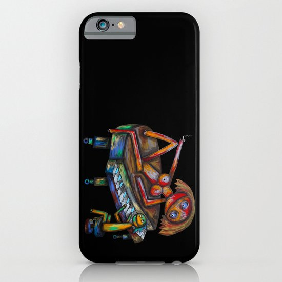 Every morning Jack plays the piano! iPhone & iPod Case