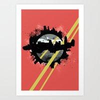 The Event Horizon Art Print