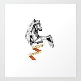 Cavalo VIVA Art Print