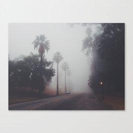 Foggy So Cal Canvas Print