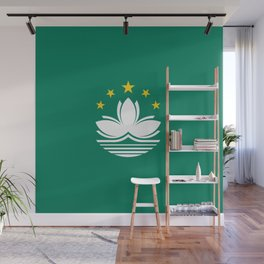 Flag of Macau Wall Mural
