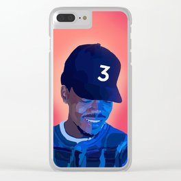 Chance The Rapper Clear iPhone Case