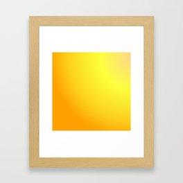 Atum Gradient Framed Art Print