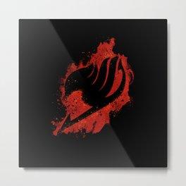 Fairy Emblem Metal Print