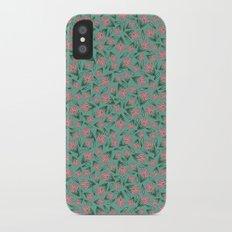 Tossed Lotus Slim Case iPhone X