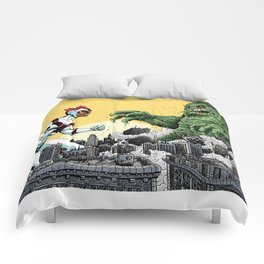 Kaiju Battle Comforters